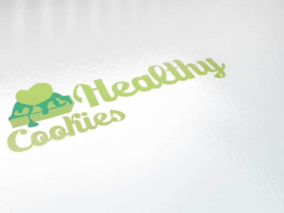 Desain Logo Healthy Cookies portfolio Portfolio desain logo healthy cookies