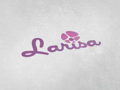 desain logo larisa, desain logo toko bunga, desain logo flower desain logo larisa Desain Logo Larisa desain logo larisa 384x288