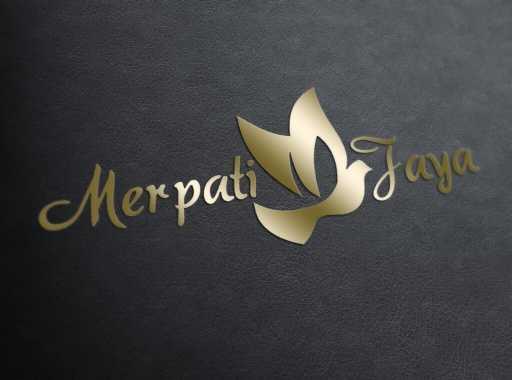 desain logo merpati jaya, desain logo perusahaan, desain logo umkm, desain logo ukm contoh desain logo Contoh Desain Logo desain logo merpati jaya 512x380