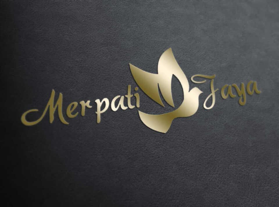 desain logo merpati jaya, desain logo perusahaan, desain logo umkm, desain logo ukm