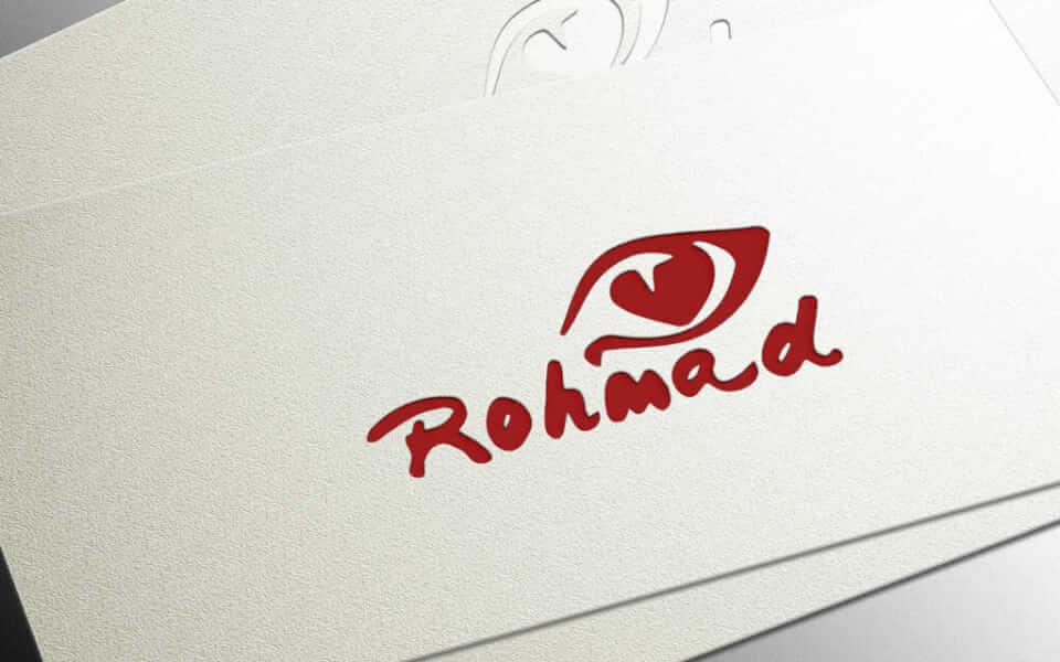 Desain Logo Rohmad portfolio Portfolio desain logo rohmad