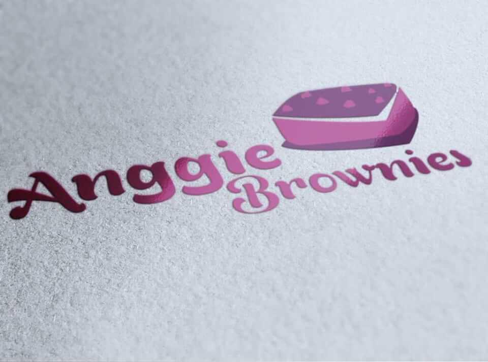 Desain Logo Anggie Brownies portfolio Portfolio desain logo roti anggie brownies