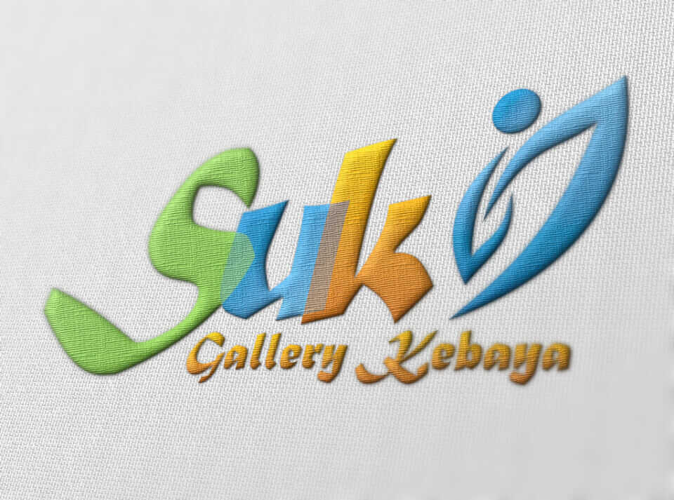 Desain Identity Suki portfolio Portfolio desain logo suki bordir gallery kebaya pakaian