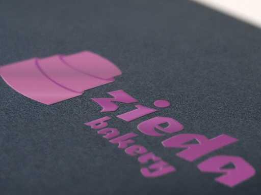 desain logo zieda bakery, desain logo bakery, desain logo toko roti
