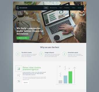 desain web akuntan, desain web kantor akuntan, desain web, web design, desain web company profile