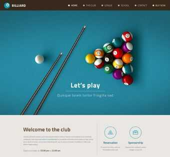 desain web billiard, desain web etam billiard, desain web comprof, web design