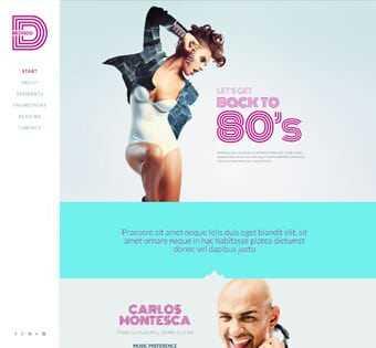 desain web disco, desain web klub