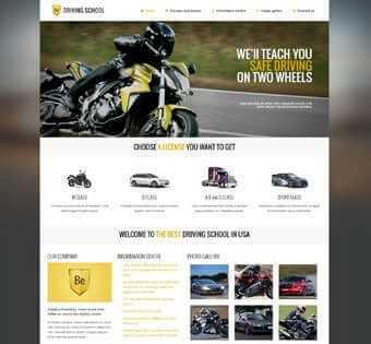 desain web pembalap, desain web driving, desain web komunitas pembalap