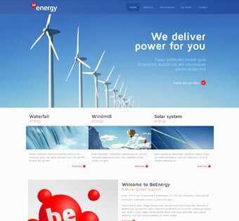 desain web pemberdaya energy, desain web peduli energy