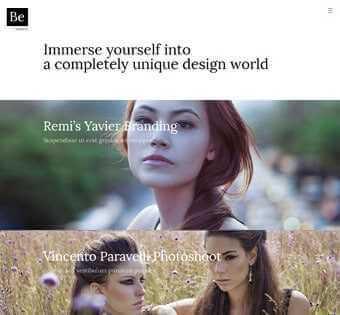 desain web photography, desain web foto, desain web exposure