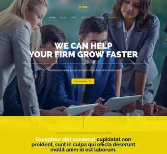 desain web pengacara, desain web notaris, desain web firm