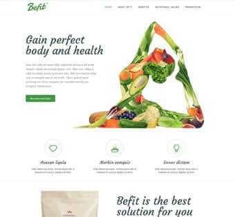 desain web body fit, desain web kesehatan, desain web klinik, desain web dokter