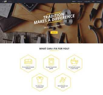 desain web renovasi, desain web kontraktor, desain web perbaikan, desain web fix