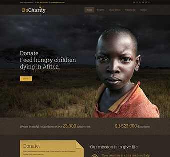desain web yayasan, desain web foundation, desain web comprof