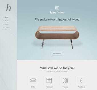 desain web perbaikan, desain web mebel, desain web pembuatan furniture, desain web renovasi