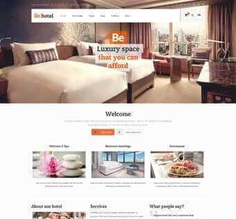 desain web hotel, desain web homtel, desain web homestay, desain web rumah tinggal