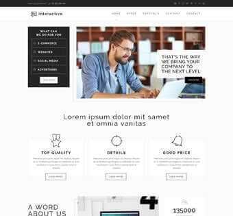 desain web interaktif, desain web komunitas, desain web team