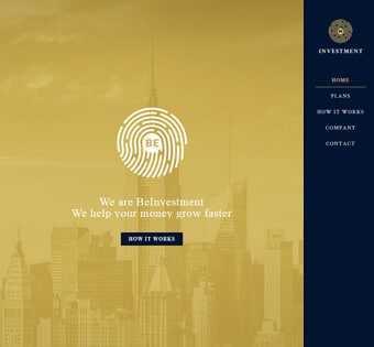 desain web investasi, desain web keuangan, desain web bisnis
