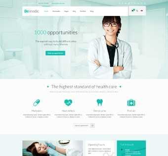 desain web kesehatan, desain web toko alat kesehatan, desain web medical checkup