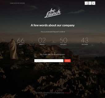 desain web meeting, desain web pertemuan, desain web launch