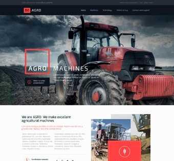 desain web mesin pertanian, desain web mesin agro, desain web mesin berat