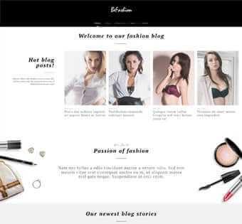 desain web fashion, desain web toko pakaian, desain web toko lingery, desain web toko online