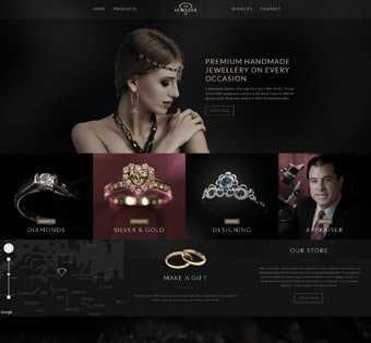 desain web jewelery, desain web perhiasan, desain web toko perhiasan, desain web pameran perhiasan, desain web toko online perhiasan