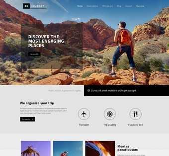 desain web perjalanan wisata, desain web tempat wisata, desain web outdoor, desain web outbond