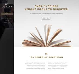 desain web perpustakaan, desain web toko buku, desain web library