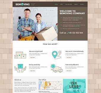 desain web pindahan, desain web layanan pindahan