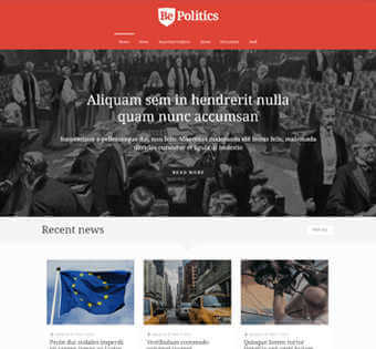 desain web politisi, desain web politik, desain web partai politik