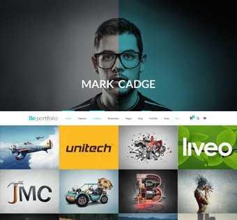 desain web portfolio, desain web desain grafis