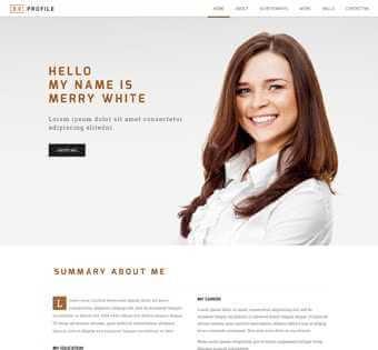 desain web biografi, desain web tokoh, desain web profile pribadi, desain web pribadi, desain web penulis, desain web copywriter