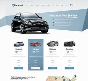 desain web rental mobil, desain web sewa mobil, desain web jual mobil