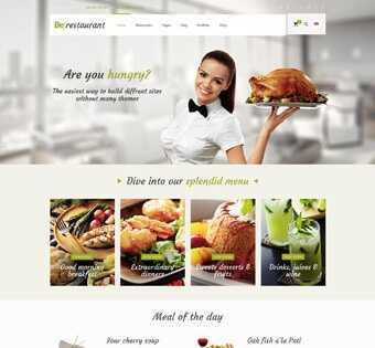 desain web restaurant, desain web resto, desain web restoran, desain web cafe, desain web canteen