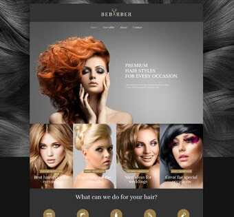 desain web salon, desain web salon kecantikan, desain web perawatan tubuh