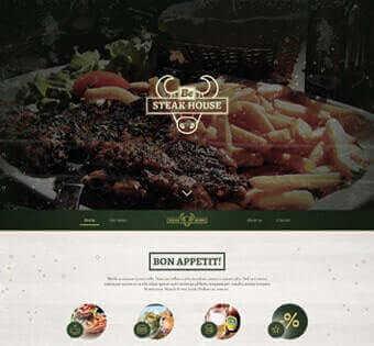 desain web steak, desain web kuliner, desain web warung steak, desain web care, desain web resto contoh web desain Contoh Web Desain desain web steak