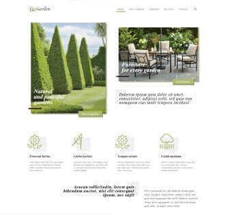 desain web taman, desain web pembuat taman, desain web persewaan tanaman