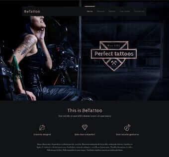 desain web tatoo contoh web desain Contoh Web Desain desain web tattoo