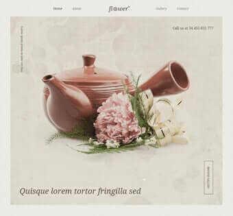 desain web toko bunga, desain web klub bunga, desain web comprof, desain web pameran bunga