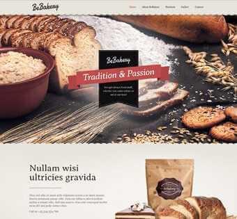 desain web roti, desain web toko roti, desain web bakery, desain web cafe contoh web desain Contoh Web Desain desain web toko roti