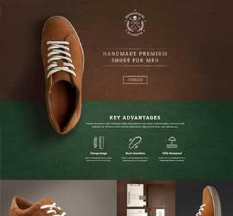 desain web marketing, desain web toko sepatu, desain web sepatu