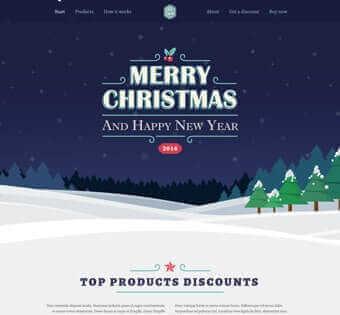 desain web xmas jasa pembuatan website murah Jasa Pembuatan Website Murah desain web xmas