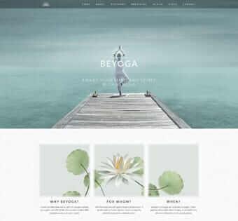 desain web yoga, desain web olah raga, desain web kesehatan, desain web kecantikan jasa pembuatan website murah Jasa Pembuatan Website Murah desain web yoga